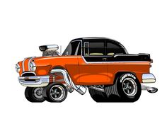 55/56 Pontiac artwork