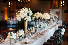 Elegant Black Tie Wedding at Congressional Country Club by Sarah Bradshaw Photography