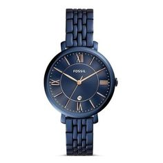 Fossil Jacqueline - Women Wrist Watch on YOOX. The best online selection of Wrist Watches Fossil. Black Stainless Steel, Stainless Steel Watch, Stainless Steel Bracelet, Fossil Jacqueline Watch, Ladies Bracelet Watch, Fossil Watches, Women's Watches, Jewelry Watches, Fossil Jewelry