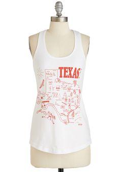 Bringin' Tex-y Back Tank, #ModCloth