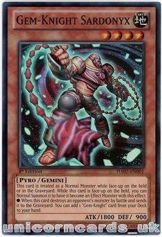 Yugioh Gem-Knight Alexandrite HA05-EN004 1st Secret Rare Near Mint Fast Shipping