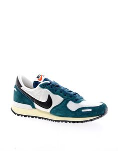 Nike Air Vortex White/Green Sneakers, $105.12