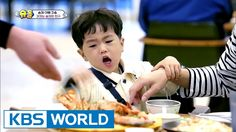 Cray fish is Seungjae's friend! [The Return of Superman / 2017.05.14]