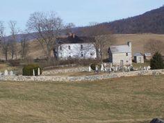 CrockettFamilyCemetery and.   Crockett House, Wythe County Va