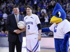Doug McDermott, Conference Player of the Year at Creighton, plays for Coach-Dad : Greg McDermott
