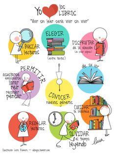 """""""Vivir sin leer sería vivir sin vivir"""". Almudena Grandes. #BibUpo"""