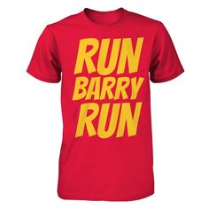 LIMITED EDITION RUN, BARRY RUN Shirt LIMITED EDITION! These shirts will only available for 2 weeks and will not be available again. #TheFlash