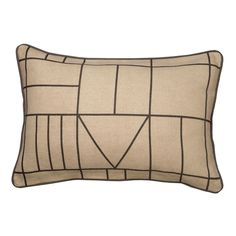 Geo Scatter Cushion Natural Standard | Volpes
