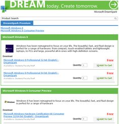 Windows 8 available for Students, Staffs and Faculties at DreamSpark Premium