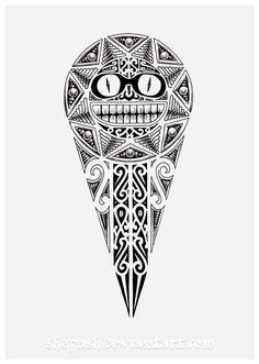 maori art   Maori sun 2 by *shepush on deviantART