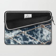 Nautical rope Laptop Sleeve by eltina Nautical Rope, Laptop Sleeves, Zip Around Wallet, Stuff To Buy, Art, Art Background, Notebook Covers, Kunst, Performing Arts