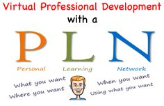 Virtual Professional Development with a Personal Learning Network (PLN)