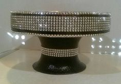 Hey, I found this really awesome Etsy listing at https://www.etsy.com/listing/127352557/10-black-tie-affair-cake-stand-available