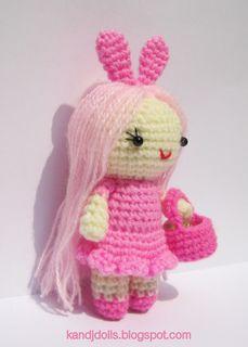 Pink Little Lady - free amigurumi crochet pattern by Sayjai Thawornsupacharoen
