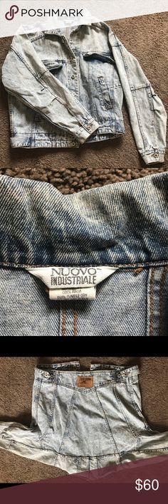 Authentic Vintage NUOVO denim jacket Authentic Vintage NUOVO denim jacket nuovo Jackets & Coats Jean Jackets