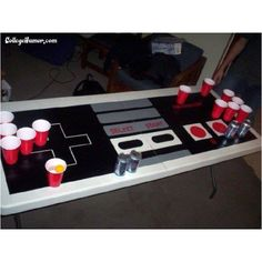 Awesome beer pong table