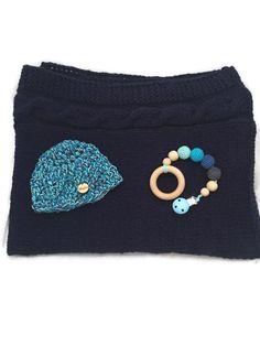 Crochet Baby Blanket / newborn set/ babyshower gift von WoolersPL auf Etsy