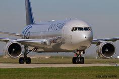 https://flic.kr/p/mzzrip | LFPG Jeudi 20 mars 2014 Boeing 767 Delta Airlines Skyteam N175DZ