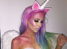 This Easy Unicorn Halloween Costume Is Blowing Up On Pinterest