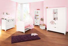 Kinderzimmer Nina breit aus massiver Fichte von Pinolino