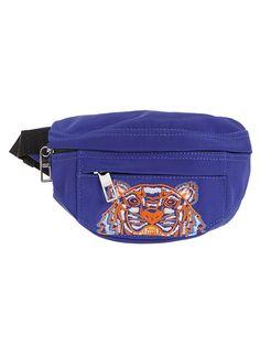 KENZO BUMBAG MINI. #kenzo #bags # Tiger Head, Kenzo, Slate, Neiman Marcus, Mens Fashion, Mini, Leather, Bags, Moda Masculina
