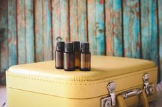 Essential Oils for Traveling - It's not that I don't like to travel. It's just that I hate everything about planes and cars and movement and everything makes me motion sick and if