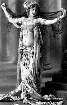 Belly dancer!  I loved belly dancing and had some great dance costumes
