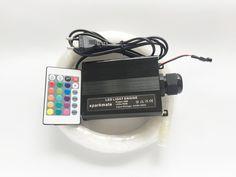 Sparkmate 16 W RGB 0.75mm * 160 sztuk * 2 m światłowodowe światła LED Gwiazda Sufitu Zestaw optyczny oświetlenie + 24key Zdalne silnika Led, Star Lights On Ceiling, Commercial Lighting, Fiber Optic, Cool Things To Buy, Remote, Engineering, Stars, Fiber