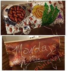 """Mystic Krewe of Nyx. My Nyx purse creations. """"Monday's in NOLA"""". #NolaMade #Float30.  Red beans and rice purse. #nyxpursetracker"""