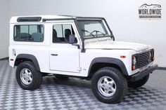 1997 Land Rover Defender - $49,000