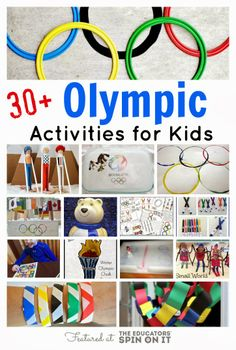 Winter Olympic Activities for Kids from The Educators' Spin On It