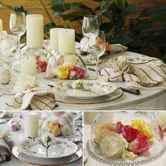 centro de mesa, flores, mesa posta, como colocar a mesa, bowls, ideias de decoração, decor table setting, tablescape