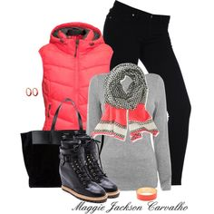 """""""Neon for Fall"""" by maggie-jackson-carvalho on Polyvore"""