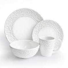 American Atelier Bianca 16-pc. Dinnerware Set