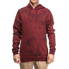 Altamont Icon Pullover Fleece Hoodie - Oxblood