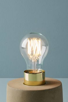 Tala Globe 6W LED Bulb by in Clear, Lighting at Anthropologie
