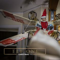 Elf on the Shelf Ideas Rouge One, a Star Wars Story. The Elf made his own. Elf One, a Christmas Story #ElfontheShelf #StarWars
