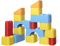 Recycled Blocks by GreenToys! Made out of recycled plastic milk containers!!