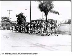 31st Inf. Reg, Philippines 1941