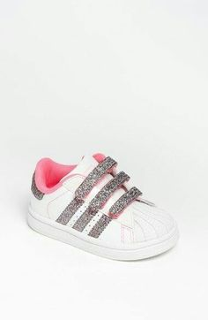 3f4769698 adidas 'Sparkle Superstar Sneaker (Baby, Walker & Toddler) available at  Nordstrom