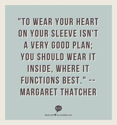 Margaret Thatcher On Women