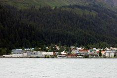 Seward from the bay