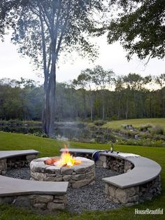 Bucket list- enjoy campfires from home.