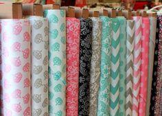 Riley Blake Sparkle Fabrics in shops #rileyblakedesigns #chevron #damask #sparkle #hollywood #crown