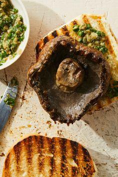History Of Pie, Portobello Mushroom Recipes, Vegan Recepies, Grilled Portobello, Recipe Directions, Few Ingredients, Food 52, Vegan Life
