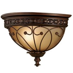 Lowes - Hallway - allen   roth�13-1/2-in W 1-Light Oil-Rubbed Bronze Pocket Wall Sconce