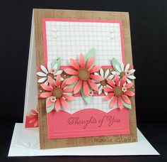 CC437 Daisies and Plaid by Rox71 - Cards and Paper Crafts at Splitcoaststampers