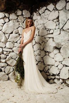 100 vestidos bohemios para novia, ¡de ensueño!