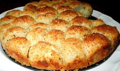Garlic-Parmesan Cheese Pull Apart Bread [Using Rhodes Frozen Yeast Rolls] Recipe on Yummly. @yummly #recipe