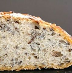Eltefritt bread with wild rice Scandinavian Food, Wild Rice, Banana Bread, Food And Drink, Thanksgiving, Baking, Muffins, Desserts, Muffin